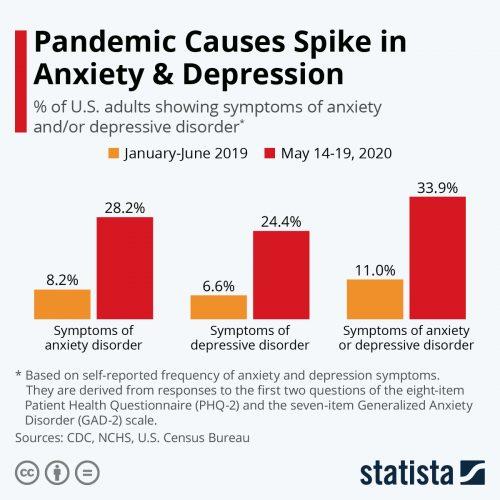 CBD Anxiety Stress Covid-19