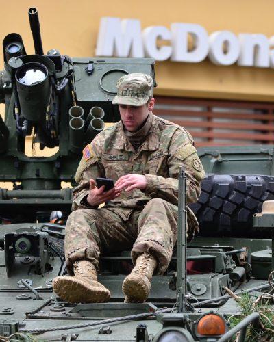 PHARM cbd soldier on tank